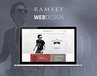 RAMSEY E-COMMERCE WEB DESIGN