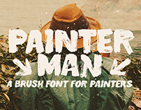Painterman Typeface
