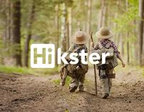 Hikster - Brand Design - Web Design