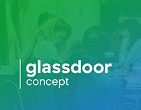 Glassdoor Website Redesign Concept