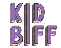 kid biff band logo