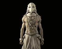 Character design. Sculpture. 1