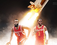 Houston Rockets with Harden and Chris Paul