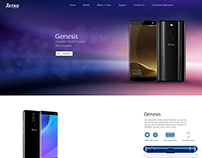 Astro Mobile Website Design