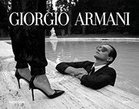 GIORGIO ARMANI new concept E-Commerce