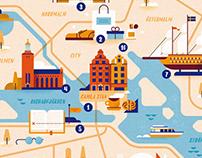 AIDA Illustrated Maps