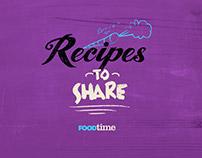 FoodTime. Channel Branding