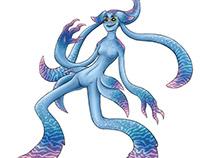 Squid Girl Concept