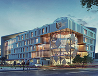 Maadi Office Building  Design & Visulaizations.