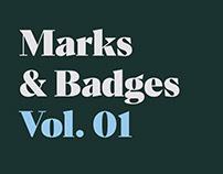 Marks & Badges Vol. 01