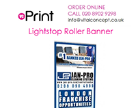 Roller Banners with Free Next Day Delivery