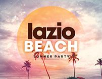 Lazio Beach - Free Summer PSD Flyer Template