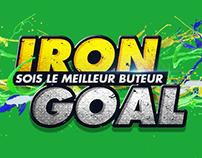 Iron Goal//App jeu concours