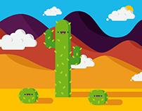 Mr. Cactus Illustration