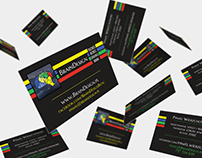 Business Card for blogger and Designer from BrainDesign