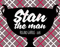 Hommage à Stan Wawrinka