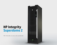 HP Integrity Superdome 2 product demo