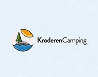 Krøderen Camping - Logo & Web