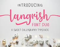 Langrish Font Duo