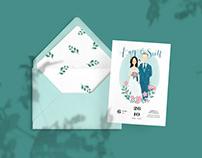 Kay&Scott wedding card