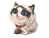 "【Customization NO.57】——Ragdoll ""小糯米"" 【定制版NO.57】——布偶猫小糯米"