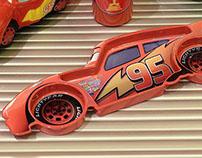 Disney - Lightning McQueen Plate 3D Prototype