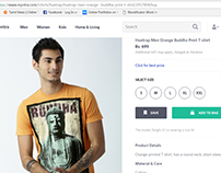 My T Shirt Design Product Sale In Myntra Website