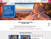 Travelsphere website build
