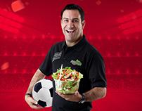 Hágala de Campeonato con Fresh Salads