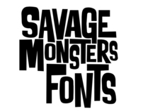Savage Monsters Fonts