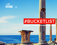 Turkey Home / Bucketlist-One Page