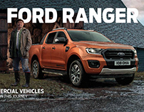 Ford Backbone of Britain billboards UK - Ranger