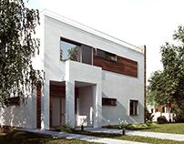 Minimalistic house under Kharkiv