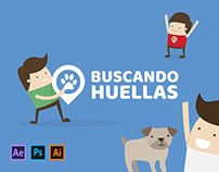 Motion Graphic - Buscando Huellas