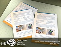 Sales Pamphlet - Financial Business