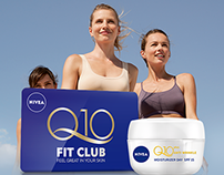 NIVEA Q10 FIT CLUB