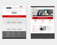 Responsive design for a corporate website - Comptaline