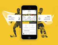 Sports betting mobile & web app