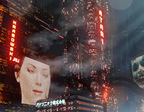 Krasowski Blade Runner City 3D