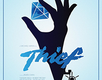 Thief - Poster Posse Michael Mann Project