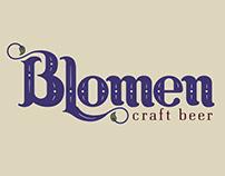 Identidad de marca: Blomen - Craft beer - cervecería