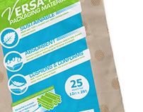3-Color Branded Plastic Bag Packaging