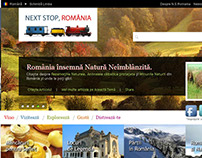 National Tourism Project Website Layout