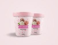 Ice Cream Jar Free Mockup