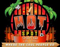Hot Spot Sorts Bar & Grill Logo