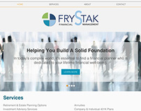 Frystak Financial Website