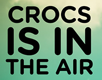 Crocs is in the air