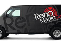 Reno Media Group Van Wrap 2018