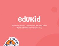 EduKid - Kids Education App UI