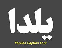 YaldaFont: Persian Caption Font